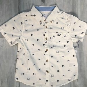 Fishbone Button Down Toddler